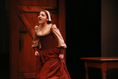 The Crucible Jerome Mirza Theatre  ​Director: Thomas A. Quinn Costume Design: Connor O. Speck Scenic Design: Curtis C. Trout Lighting Design: Sunniva Holmlund Photographer: Anna Kerr-Carpenter