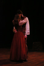 The Crucible Jerome Mirza Theatre  Director: Thomas A. Quinn Costume Design: Connor O. Speck Scenic Design: Curtis C. Trout Lighting Design: Sunniva Holmlund Photographer: Anna Kerr-Carpenter