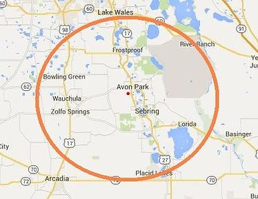 Locksmith 911 Service Coverage Map