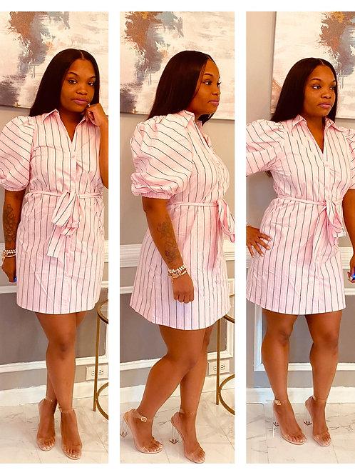 Sassy Stripes  Pink