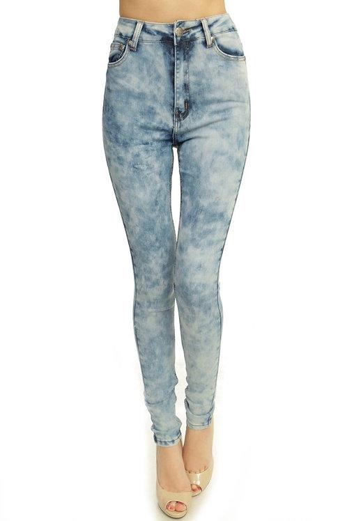 Tye Dye High Waist Jeans