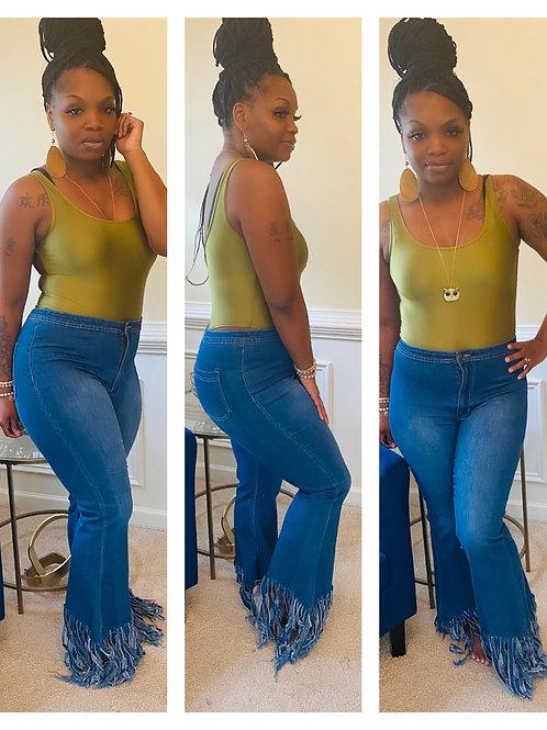 Fringe Me Jeans