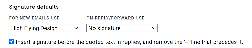 How to set up a Gmail email signature