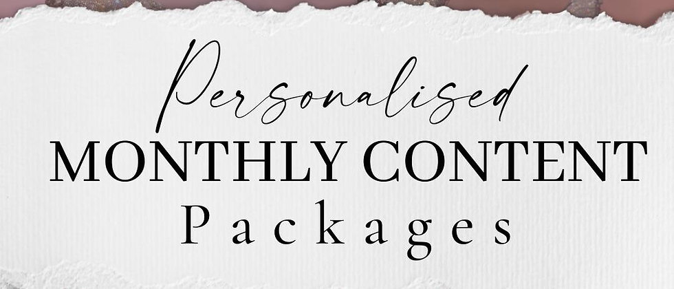 Personalised Content Packages