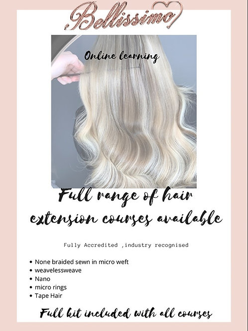 Hair Extension Master Course