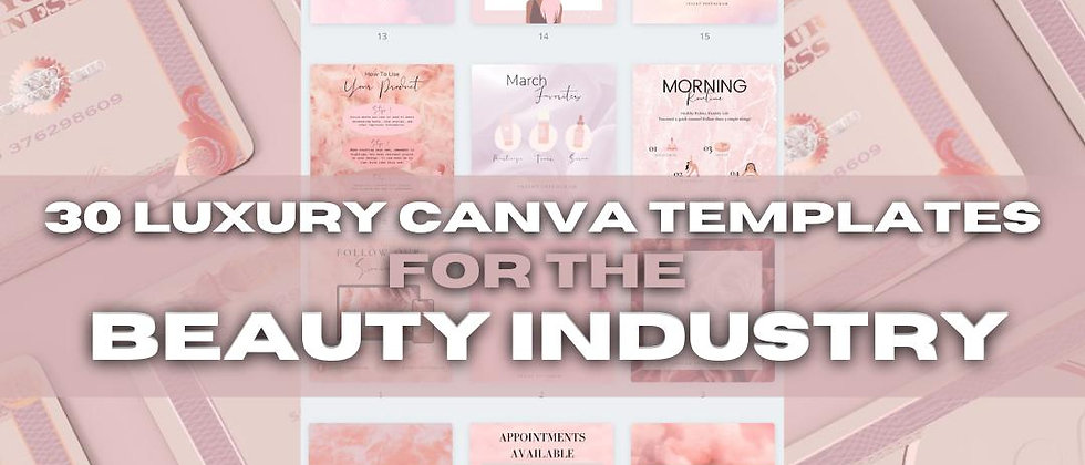30 Days of Content: Beauty Industry