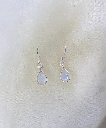 Moonstone Droplet Earrings