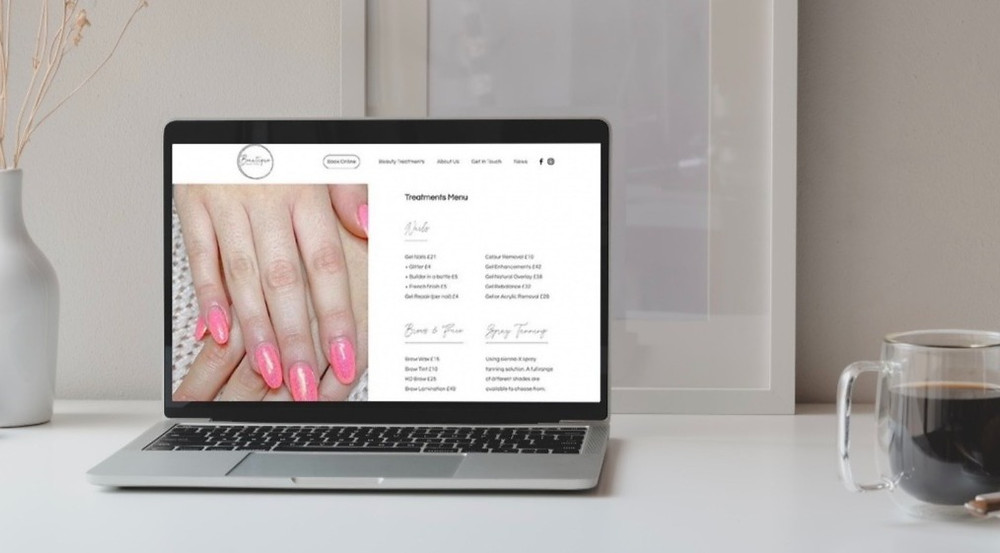 Health, Beauty & Wellness Websites | Does my beauty business need a website