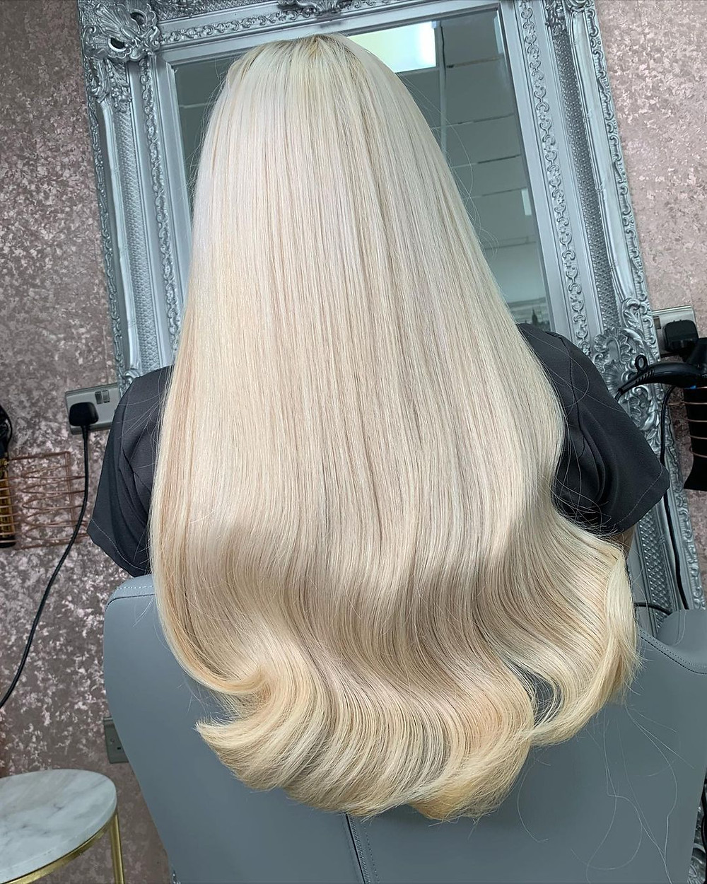 Can I use heat styling tools on my hair extensions?   Blonde Hair Extensions