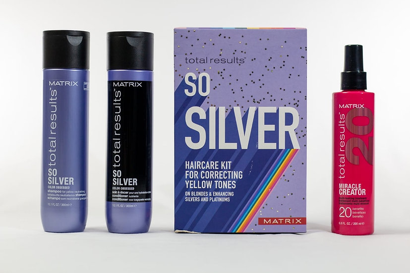Matrix Total Results So Silver Haircare Kit