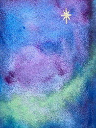 schildering hemel