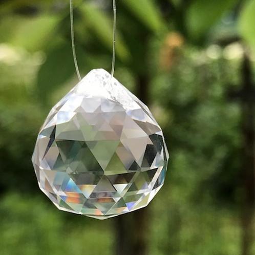 Regenboog kristal 30mm