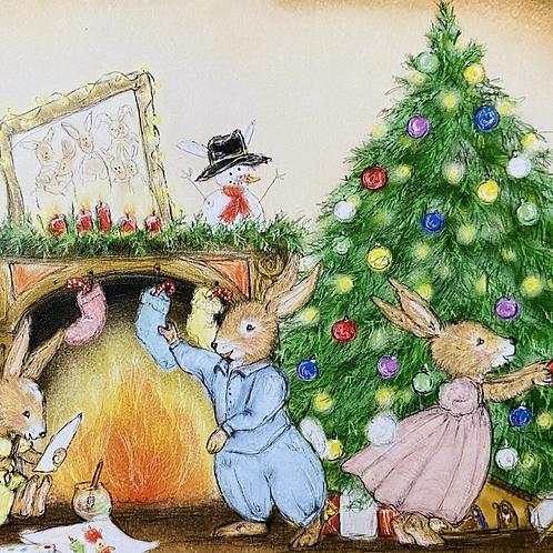 Altaar kaart kerst