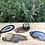 Thumbnail: Platgeslepen Agaat. Warme natuurkleuren