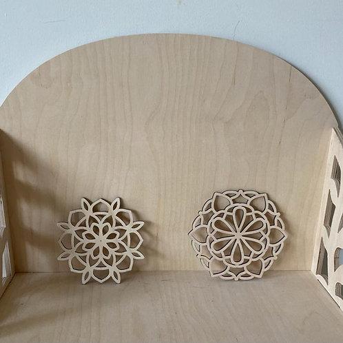 Kleine mandela voor op mini of grote altaar