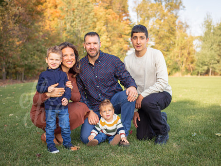 The Mossas | Fall Family Session