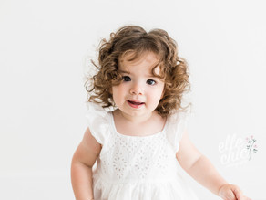 Nicole is ONE   First Birthday Milestone Session