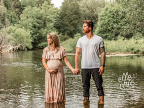 Nicole & Nick   Guelph Lakes Maternity Session