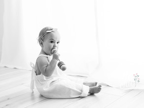 Charlotte is ONE   Simplicity Session