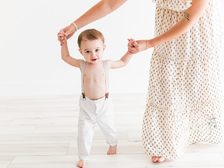 Everett is ONE | Guelph, Ontario First Birthday Session