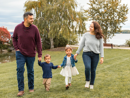 The Boisselles | Family Lifestyle Session