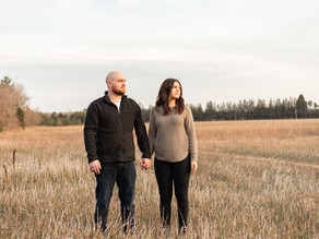 Tyler + Leah | Guelph, Ontario Engagement and Baby Announcement!