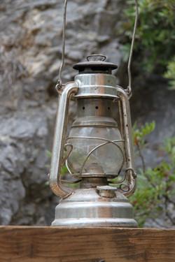 Lanterne en aluminium