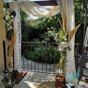 arche de ceremonie -decoratrice-marseille