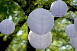Lot de 40 lanternes de papier