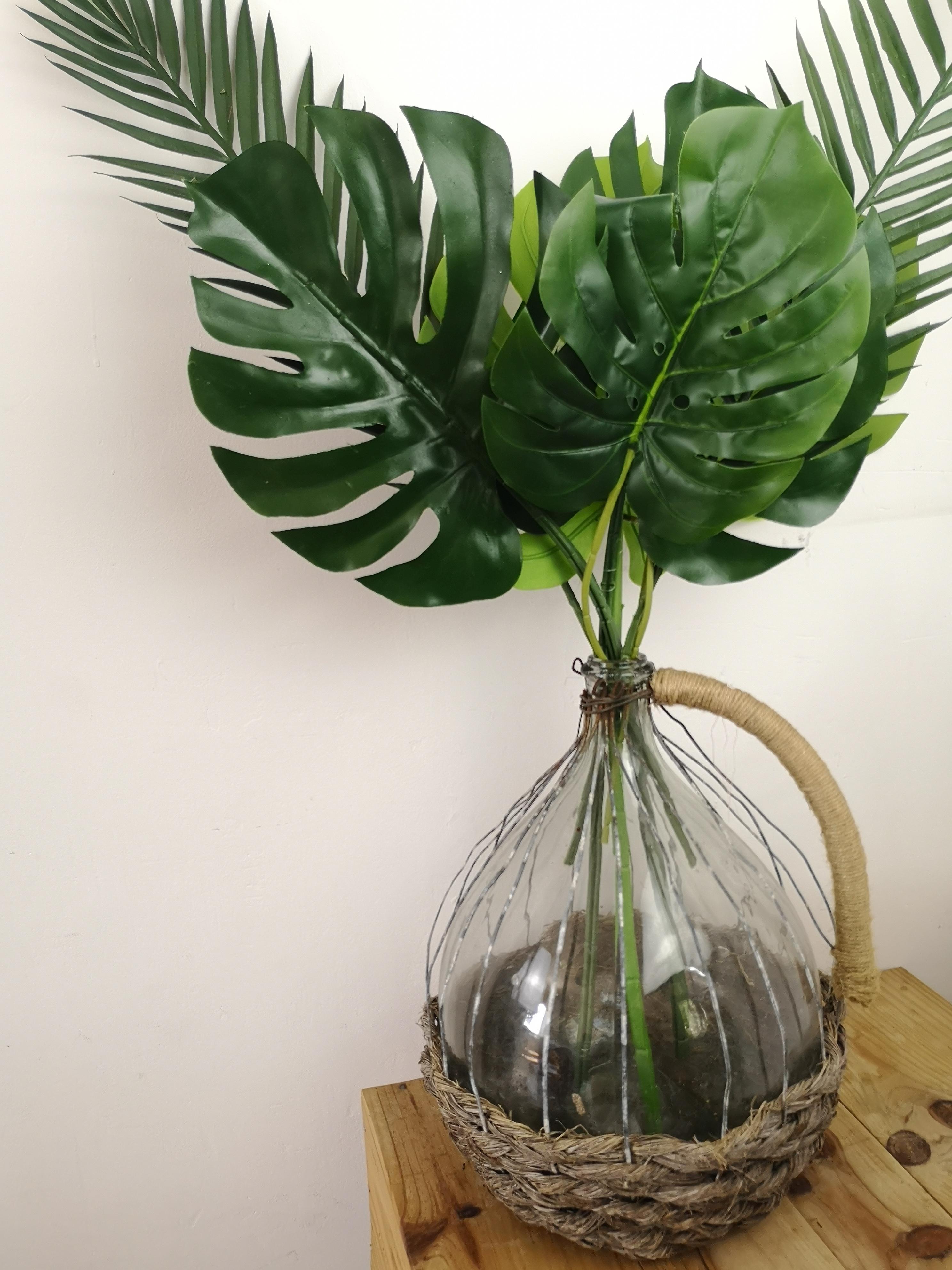 Feuilles de palmiers souples