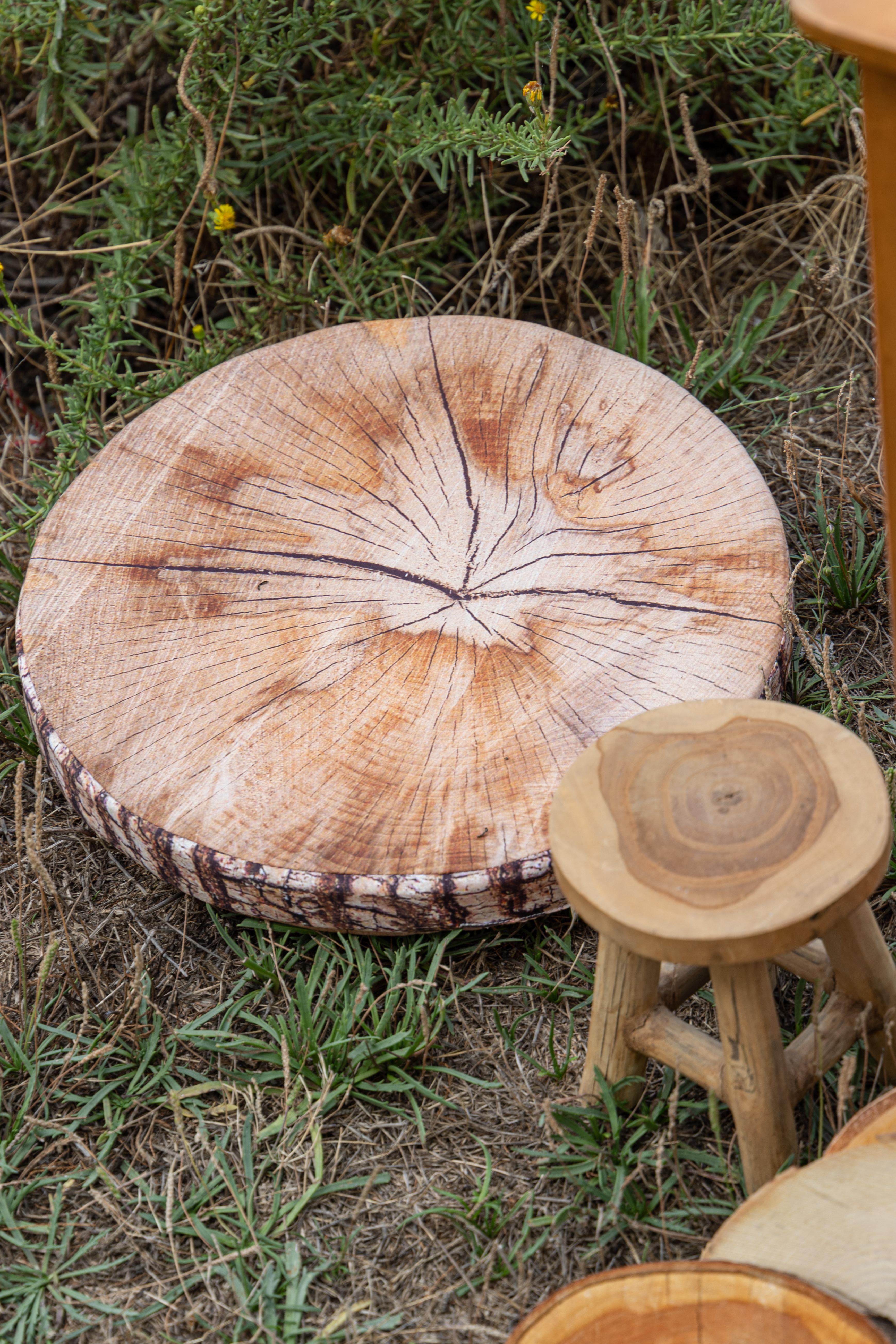 Rondins de bois faux