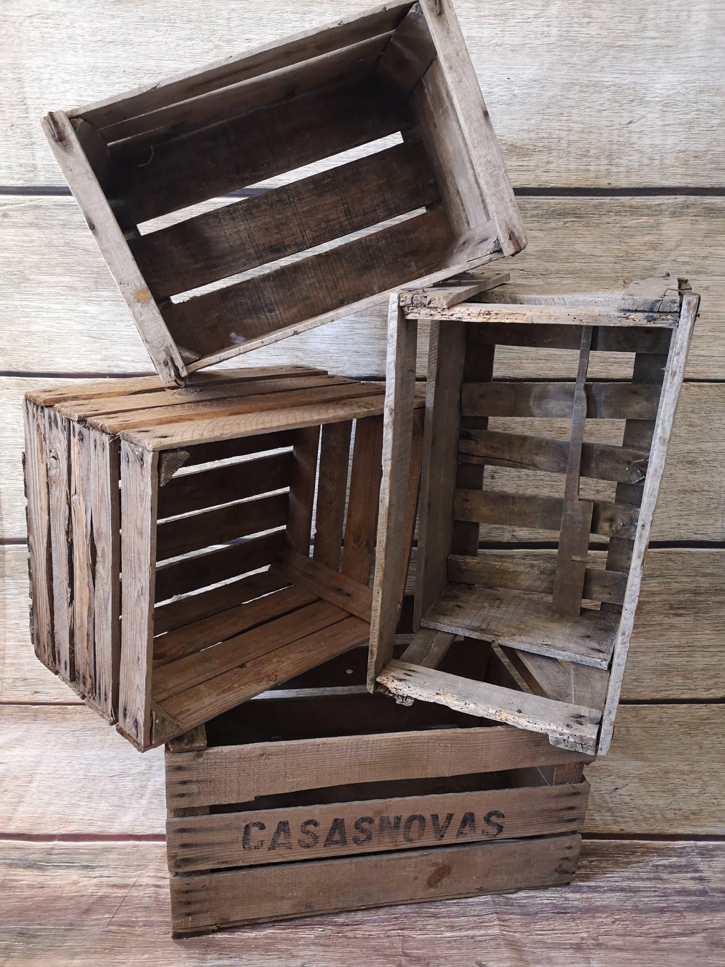 Caisses de bois