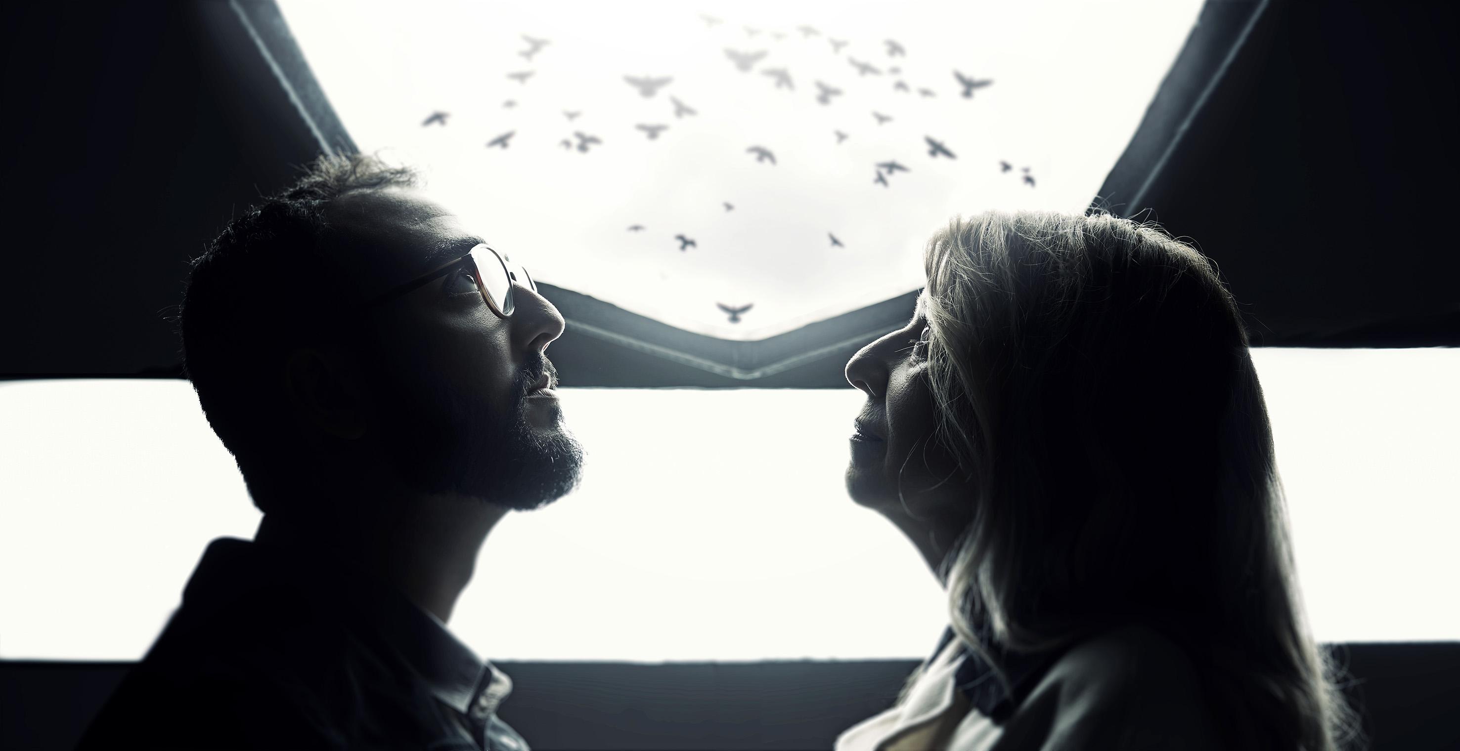 Raphael Montes e Ilana Casoy
