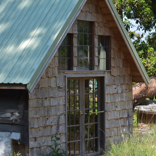 Cabin above the workshop