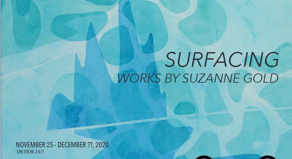 S U R F A C I N G at ok-no gallery in Chicago, IL, 2021