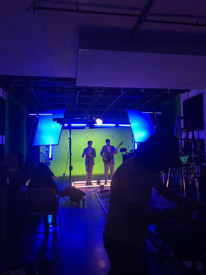 Wardrobe + HMU, Seagull (Ed Schrader's Music Beat) music video