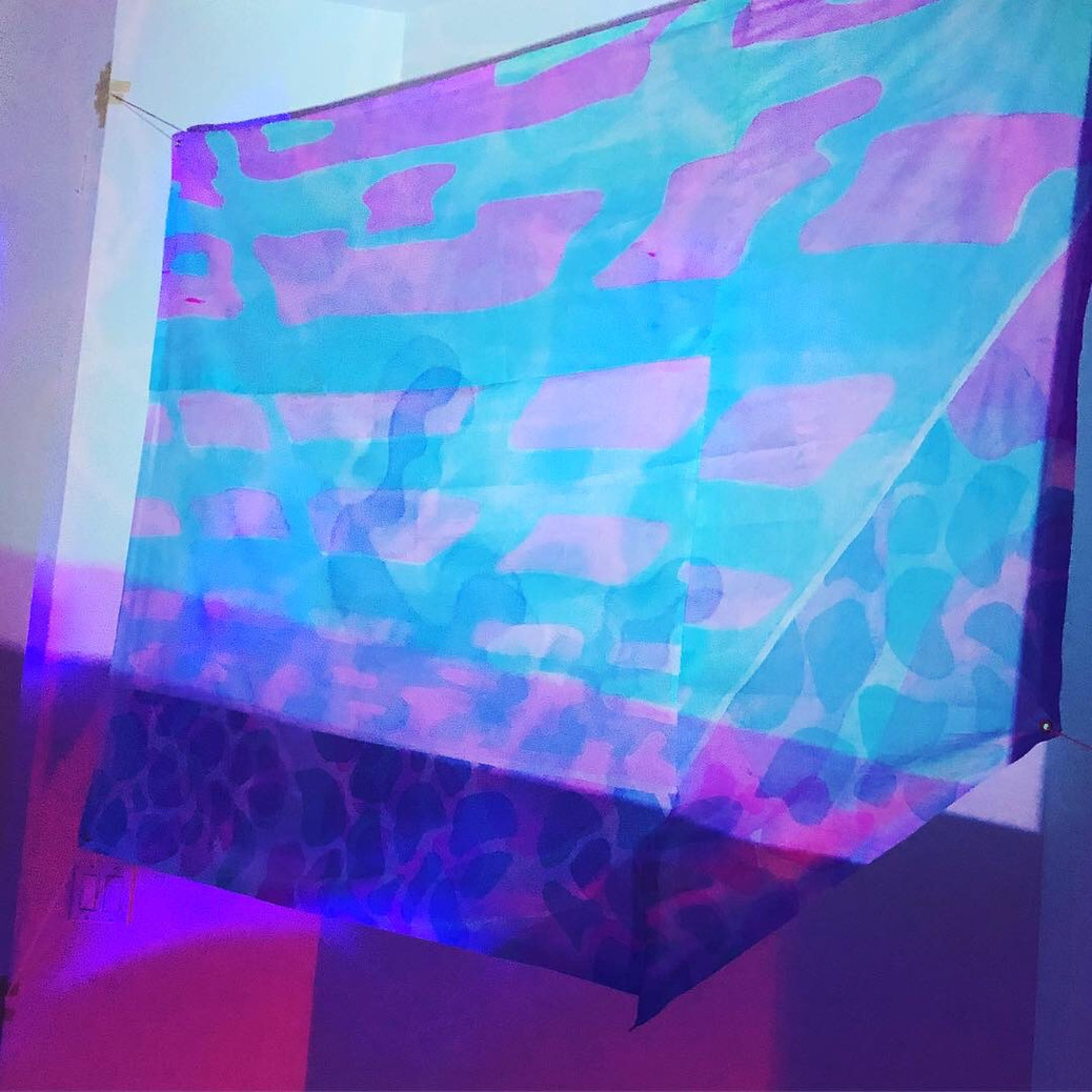 Dead Man's Float print with animation, install view
