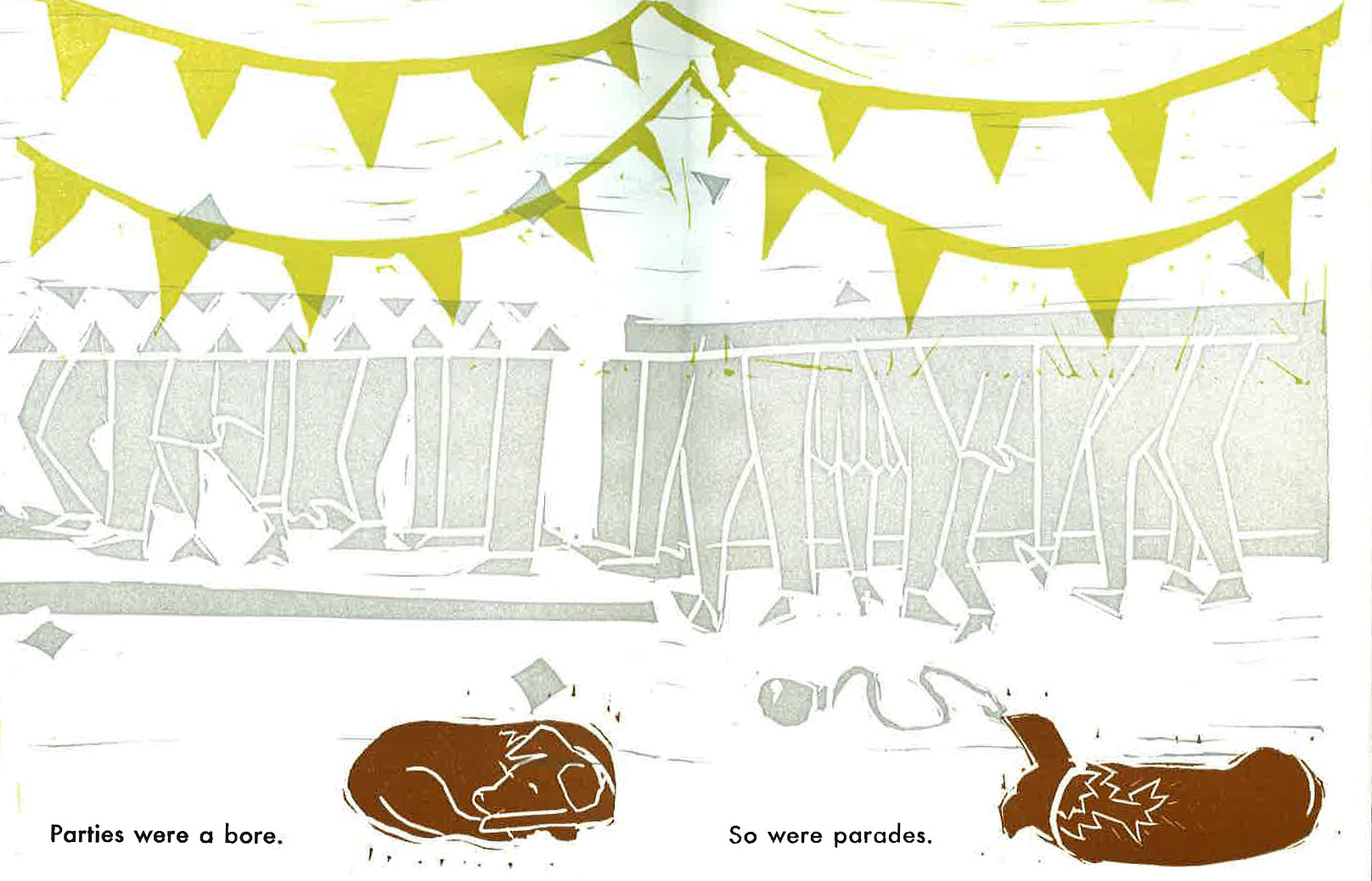 Lucy and the Sleep Couch interior pages
