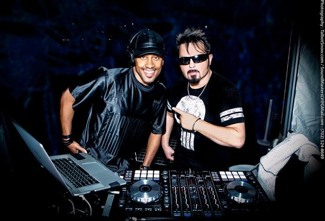 DJ Axis & DJ-Snowman-LV