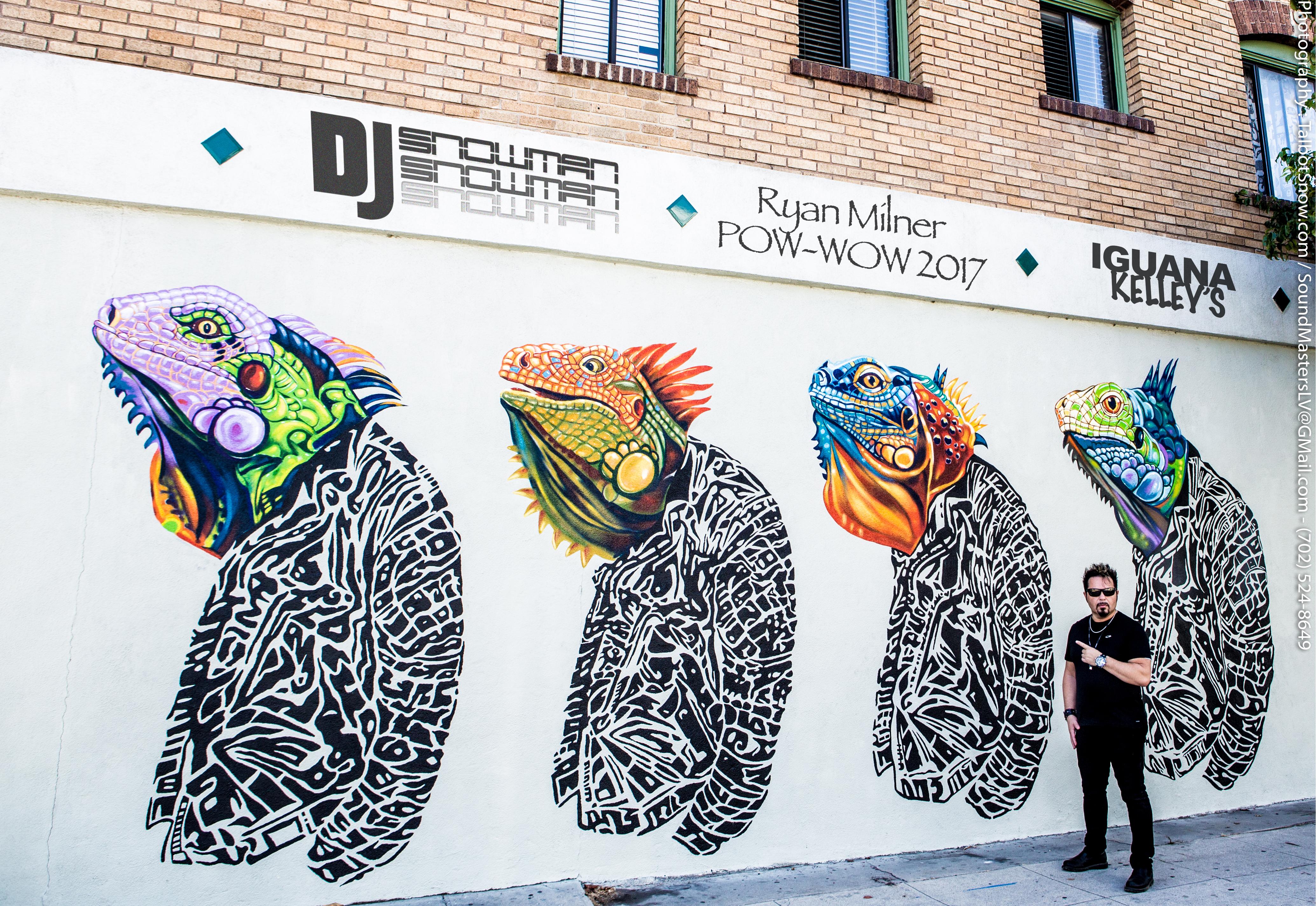 DJ Snowman w 4 Iguanas - 1