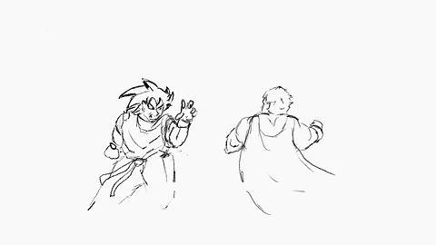 Goku vs Superman - draft