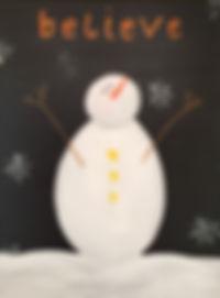 Believe Snowman - Kathleen.JPG