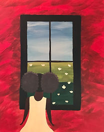 Girl Looking Out A Window.JPG