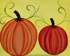 Pumpkins on a Vine - Kym.jpg