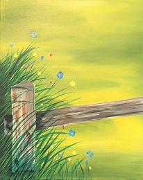 Wildflowers by the Fence - Kym.jpg