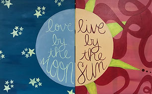 Love by the Moon Live by the Sun - Sam.j