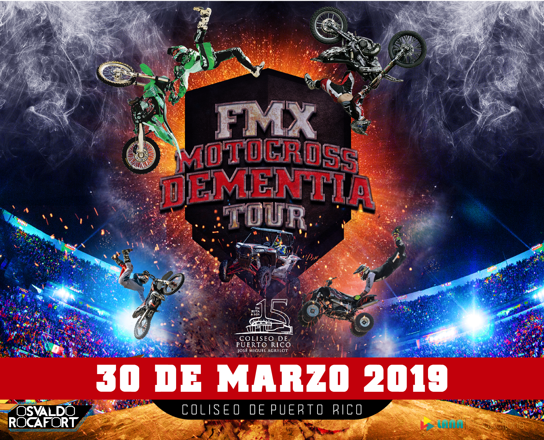 FMX Motocross Dementia Tour