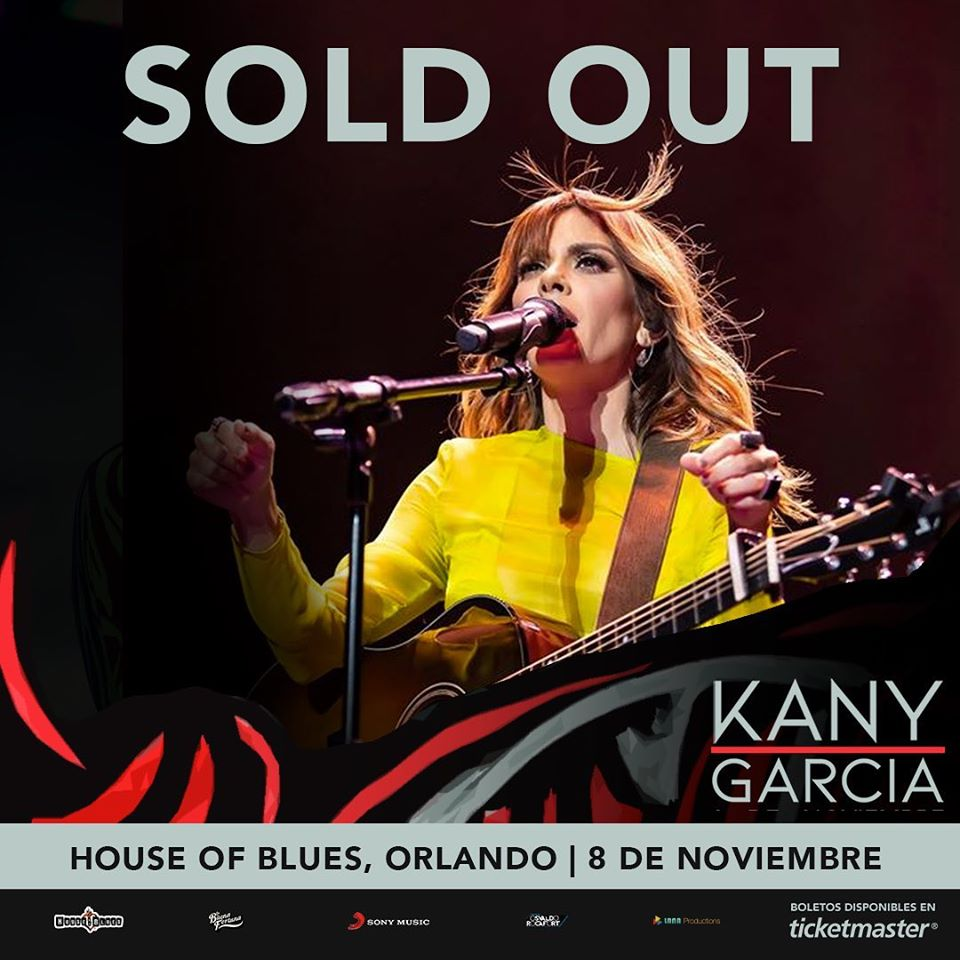 Kany García Orlando SOLD OUT