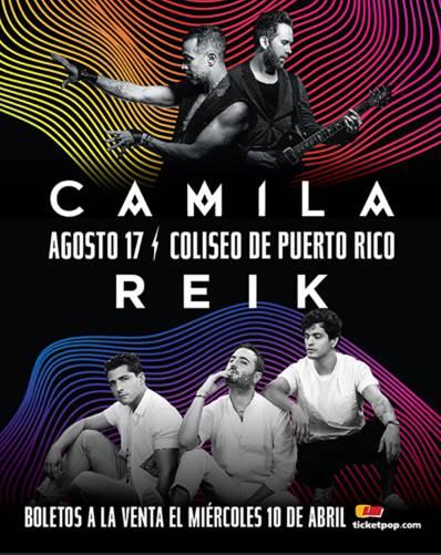 Camila & Reik | Agosto 17