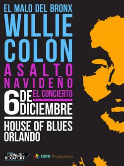 """Willie Colón """"Asalto Navideño"""""""